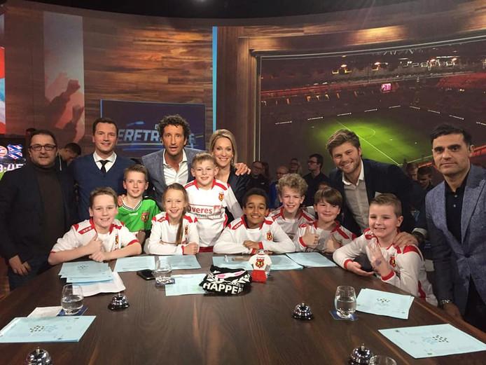 VV Gouderak was in de uitzending van de Eretribune op sportzender Fox Sports.