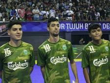 Saïd Bouzambou op schot in eerste duels in shirt Vamos FC