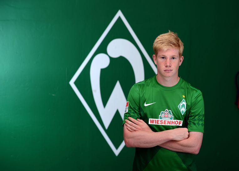 Kevin De Bruyne lanceerde zijn carrière in het buitenland écht bij Werder Bremen.