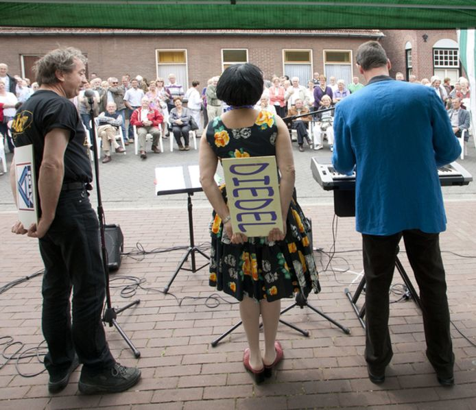 Het Brabants Dialectenfestival in 2018.