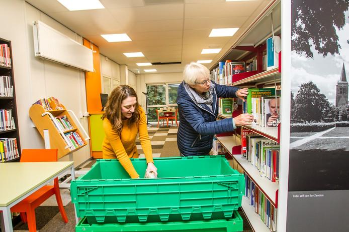 De tijdelijke huisvesting van de Sonse bibliotheek in het Vestzaktheater kostte 40.000 euro meer dan begroot.