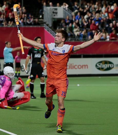Oranje wint op EK hockey in Antwerpen van Duitsers
