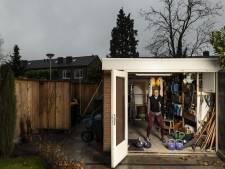 Sportscholen in Twente dicht? Dan maar in de schuur