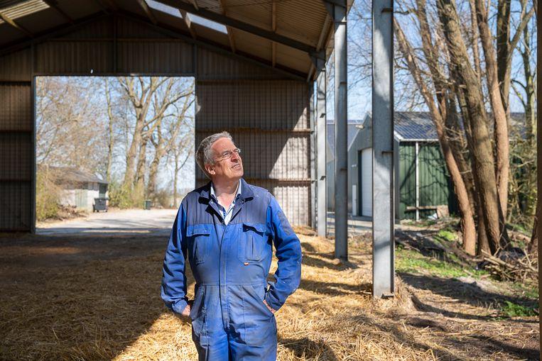 Marc Calon, voorzitter van LTO Nederland, op zijn bedrijf in Zuurdijk.  Beeld null