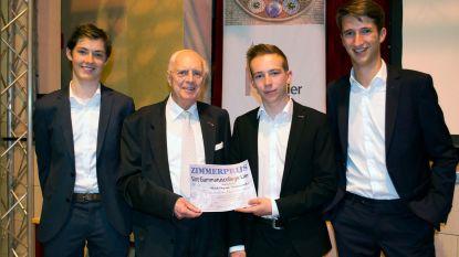 Aron, Santi en Kasper krijgen Humanitaire Prijs