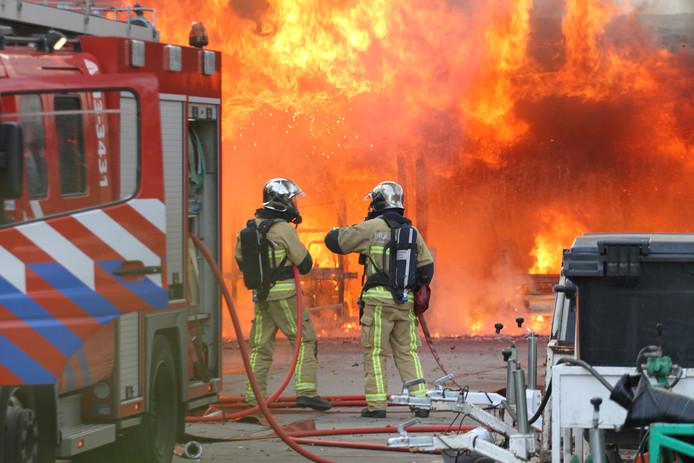 De brandweer in Harderwijk rukt voortaan bij een calamiteit uit met privégegevens van bewoners. Foto ter illustratie.