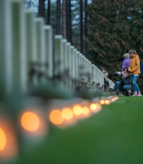 Lichtjes op de oorlogsgraven zoekt jeugd