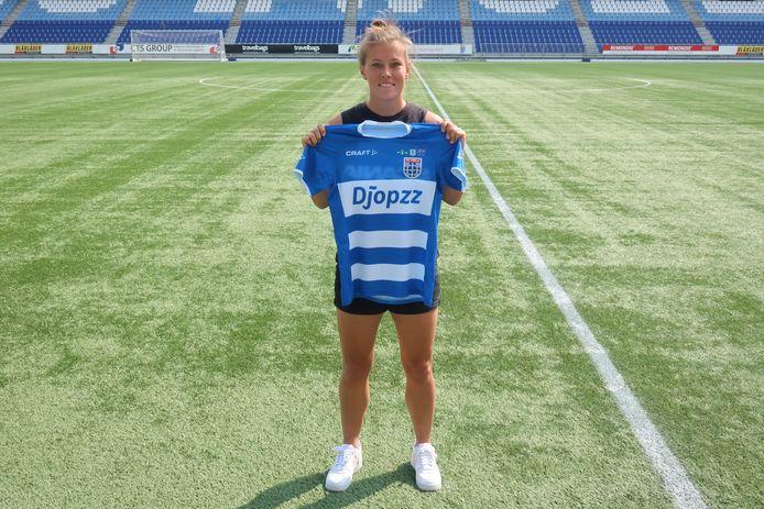 Dominique Bruinenberg, nieuw bij PEC Zwolle.