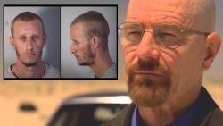 Walter White in de cel wegens bezit crystal meth