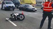 Motorrijder lichtgewond