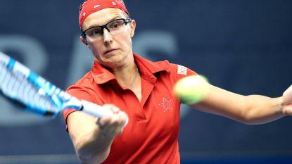 Kirsten Flipkens plaatst zich niet voor kwartfinales in Auckland