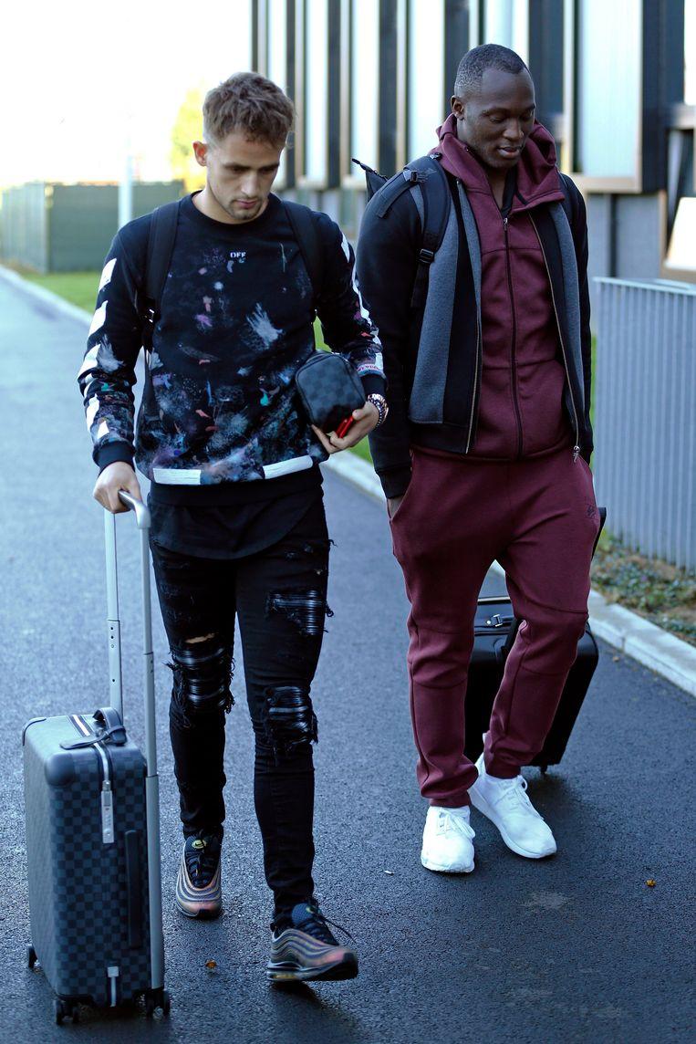Adnan Januzaj en Romelu Lukaku.