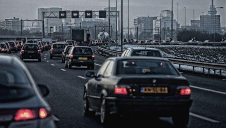Verkeer op de A10. Foto: Patrick Post Beeld