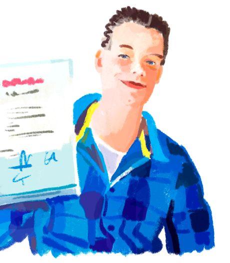 Waarom Henk 22 jaar geleden ook geen diploma-uitreiking had
