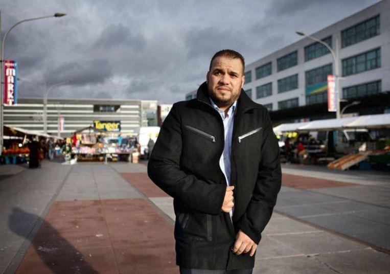 Yassin Elforkani: 'Als de PVV zegt: de islam hoort niet bij Nederland, dan moeten anderen zeggen: de islam hoort er wel bij, de islam hoort bij ons. Daar moet je wel ballen voor hebben, ja.' Beeld Jean-Pierre Jans