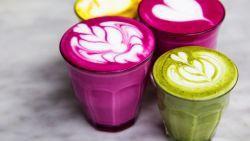 Hoe drink jij je koffie: roze, groen of als martini? De koffietrends op een rijtje