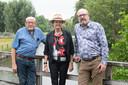 Jan ten Dam, Hannah Dits en Johan Joren (v.l.n.r.)