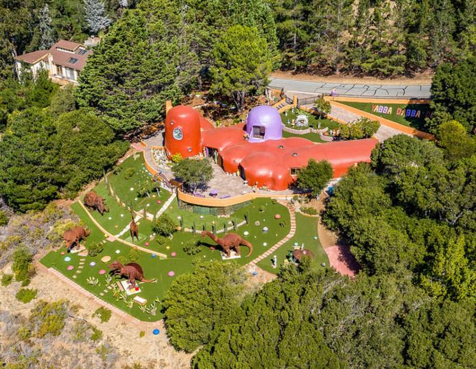 Het Flintstone Huis in Hillsborough