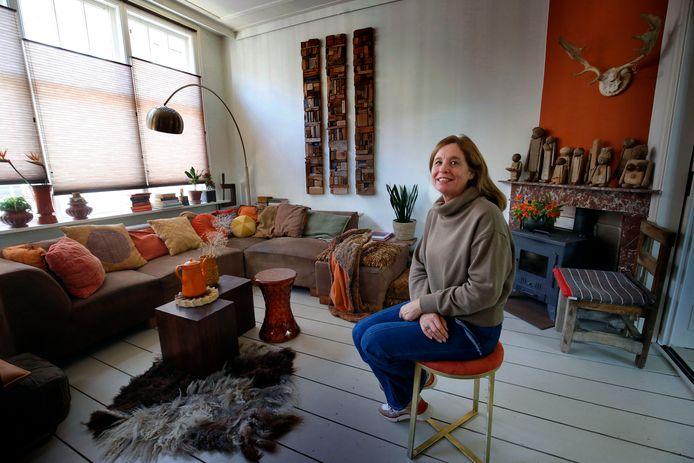 Ariena Ruwaard woont in een huis uit begin 1900.