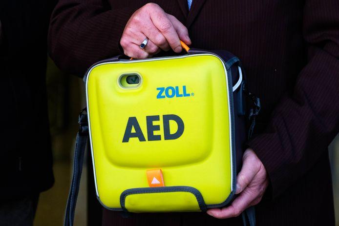 Illustratie: een AED-toestel.