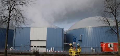 Brandweer rukt uit voor gaslucht bij bio-energiecentrale in Harderwijk