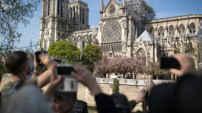 """Notre-Dame quasi gered"", zegt Franse cultuurminister Franck Riester"