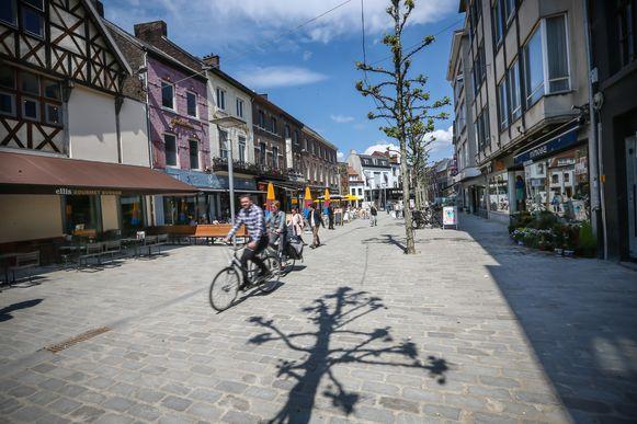 De Zuivelmarkt in Hasselt.