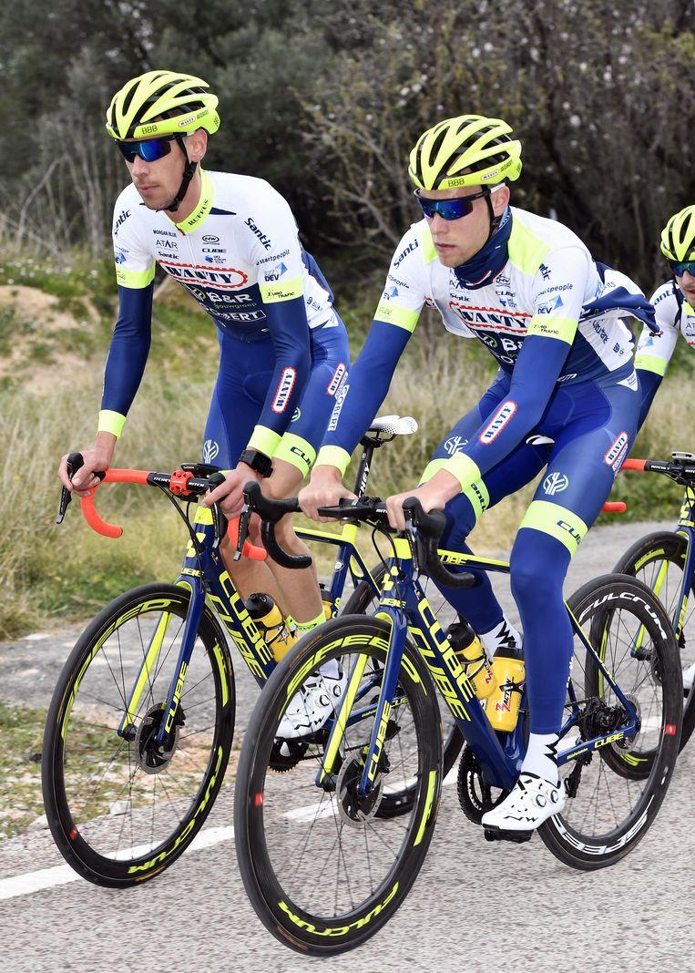 Bart De Clercq (links) en Xandro Meurisse.