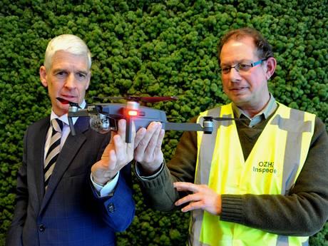 Drone in strijd tegen hennepteelt Biesbosch