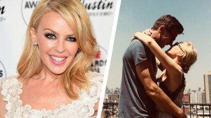 Kylie Minogue is opnieuw dolverliefd