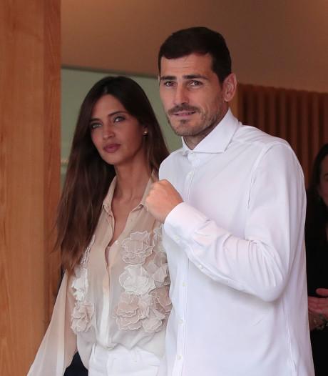 Nieuwe klap voor gezin Casillas: vrouw geopereerd aan eierstokkanker