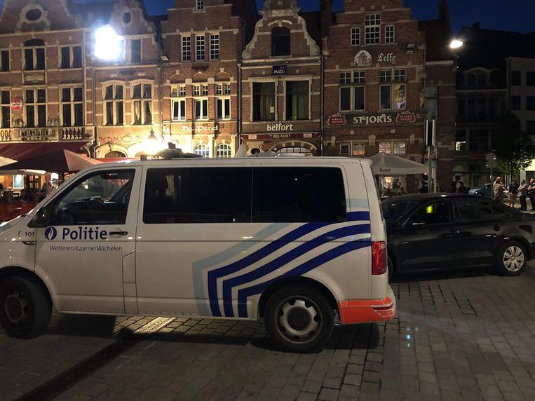 De politie van Dendermonde kreeg bijstand van twee andere zones.