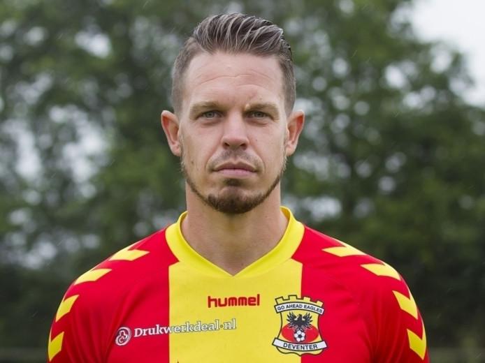GA Eagles-speler Sander Duits