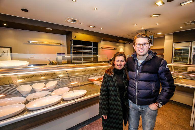 Brugge slagerij Filip wordt slagerij Le Foulard: Emma Van Oost en Niels Dedier