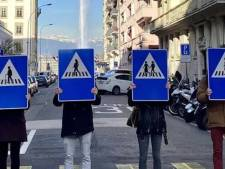 'Van een vrouw op het verkeersbord wordt het verkeer niet veiliger'