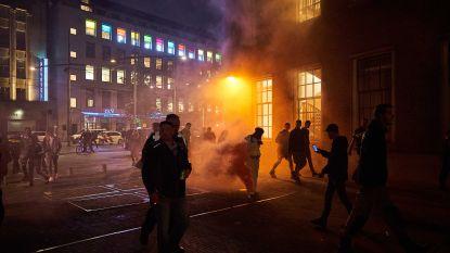 Militairen op straat bij protest Nederlandse boeren