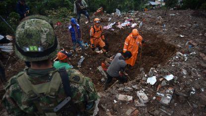 Zeker negentien doden bij aardverschuiving in Colombia