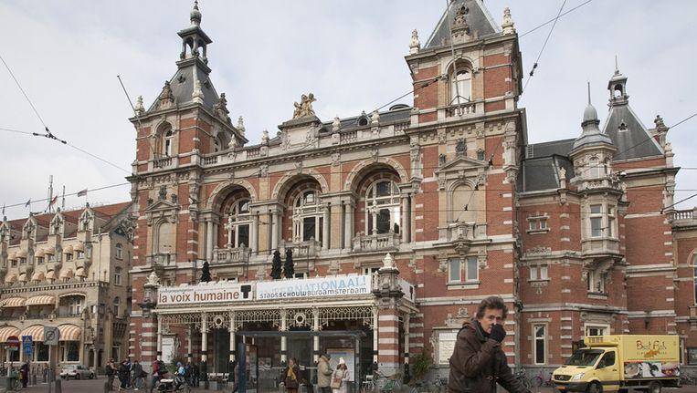 De Amsterdamse Stadsschouwburg. Foto Dingena Mol Beeld