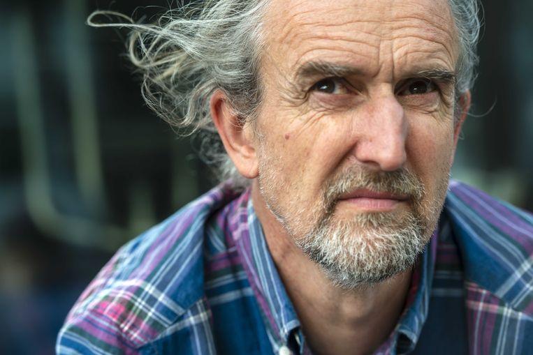 De Britse milieuactivist en mede-oprichter van Extinction Rebellion Roger Hallam.
