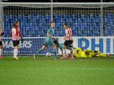 Voetbalsters PSV grijpen weer naast prijs