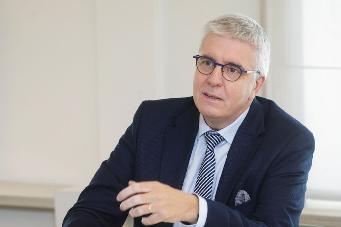 Pieter Timmermans, patron de la FEB.