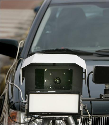 Politie houdt snelheidscontrole op de Copernicusweg in Dordrecht