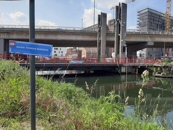 Wordt de Vaartkombrug binnenkort de Marie Thumas-Durieux-brug? Als het van het Leuvense stadsbestuur afhangt wel.