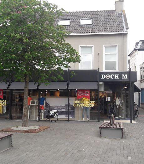 Mannenmodezaak Dock-M in Terneuzen failliet verklaard, coronacrisis gaf nekslag