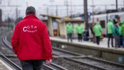 Socialistische en liberale vakbond willen staken bij het spoor op 19 december