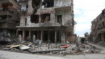 Grondgevechten in Oost-Ghouta gaan verder ondanks humanitair bestand