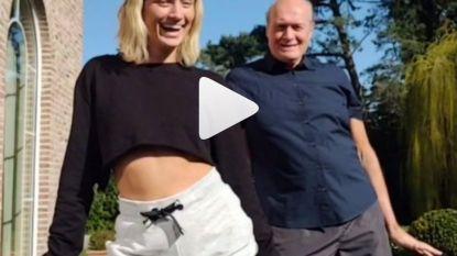 Van verveling geen sprake in huize Vermeire: Julie en Jacques maken hilarische TikTok-video