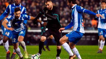 Real gaat - zonder Ronaldo - opnieuw met de billen bloot in Spanje