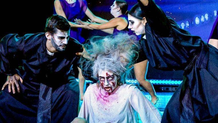Danceformation Silverstar doet auditie bij Belgium's Got Talent.