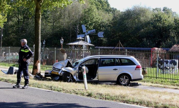 Ongeval Gemondsedijk Sint-Oedenrode.